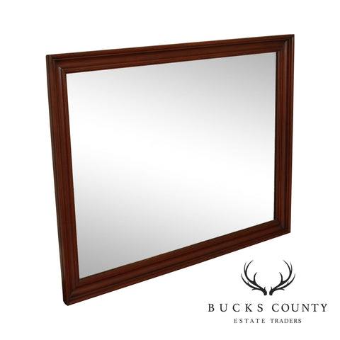 Henkel Harris Cherry Rectangular Mirror