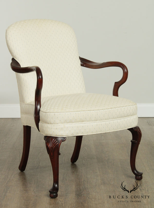 Woodmark Originals Mahogany Queen Anne Frame Armchair