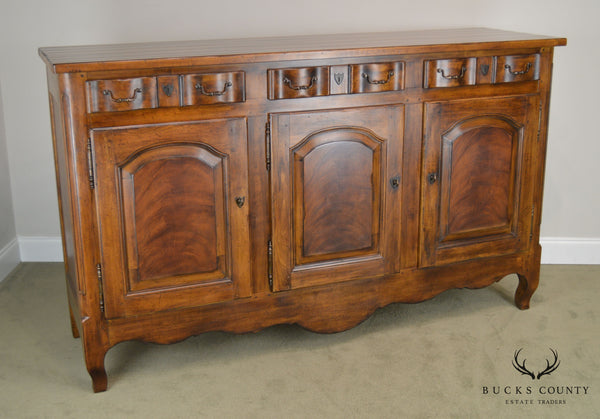Drexel Heritage French Country Style Large 3 Door Buffet Sideboard (A)