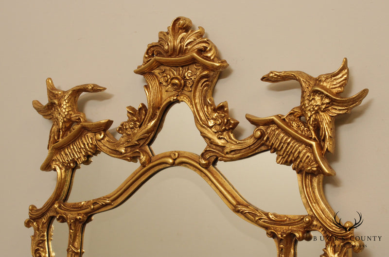 Friedman Brothers Giltwood Rococo Style Wall Mirror