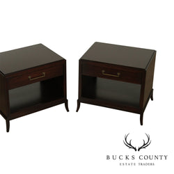 Michael Weiss by Vanguard Furniture Pair Barret Lamp Table, Nightstands