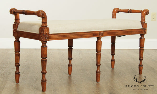 Drexel Heritage French Louis XVI Style Bench