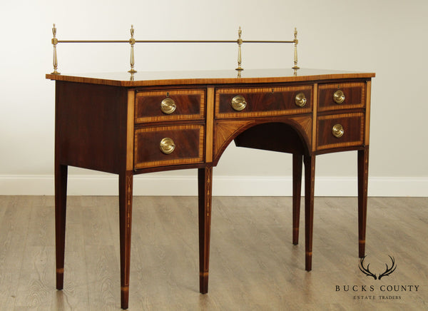 Councill Craftsman Federal Style Mahogany Inlaid Sideboard