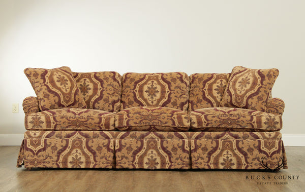 Lewis Mittman Custom Upholstered Sofa