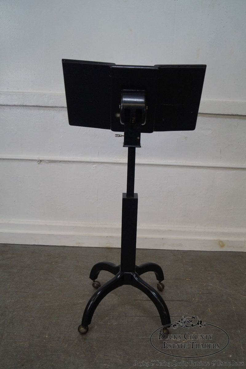 Studio Crafted Mid Century Ebonized Lectern Podium