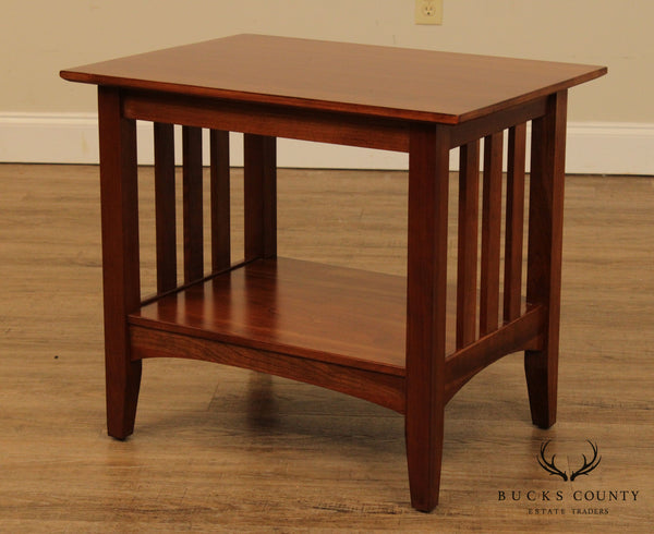 Ethan Allen American Impressions End Table with Slats