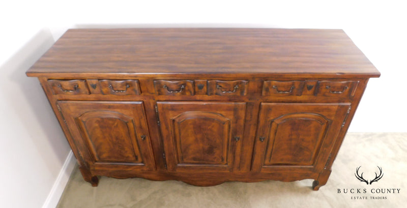 Drexel Heritage French Country Style Large 3 Door Buffet Sideboard (B)