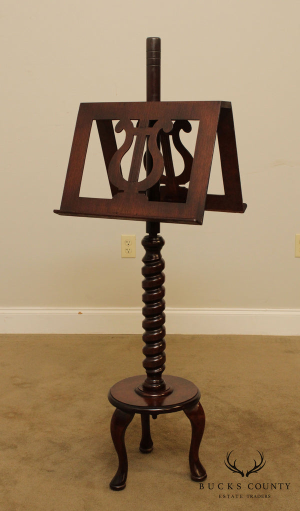 Antique Regency Style Music Stand