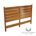 Paul McCobb Planner Group, Winchendon Mid Century Modern Maple Full Headboard