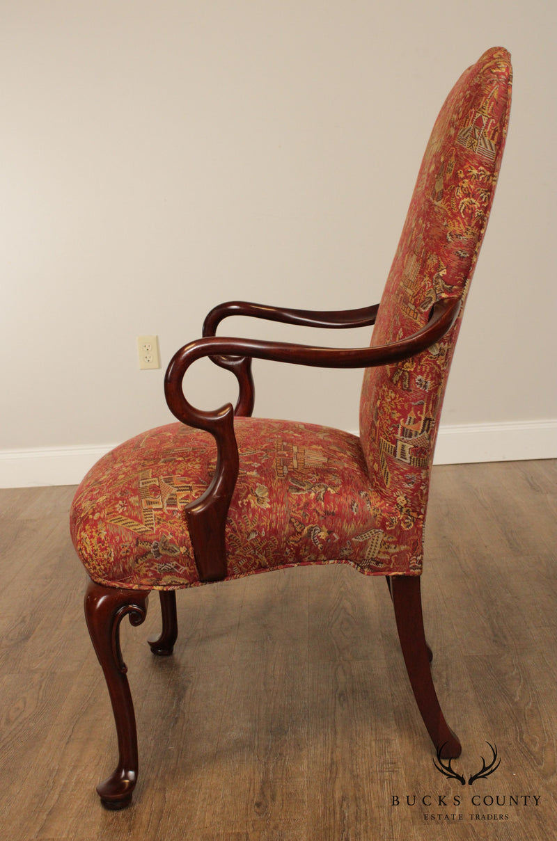 Southwood Mahogany Queen Anne Armchair