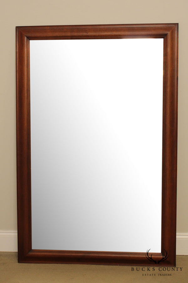 Georgetown Galleries Solid Mahogany Frame Vintage Wall Mirror