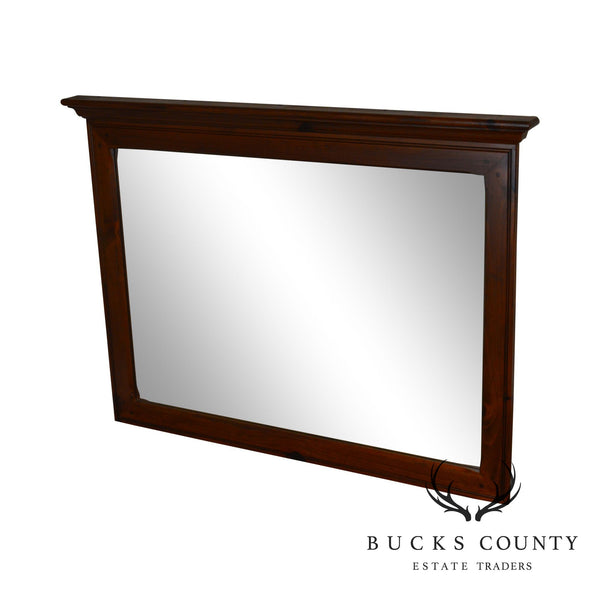 Ethan Allen Country Craftsman Collection Pine Mirror