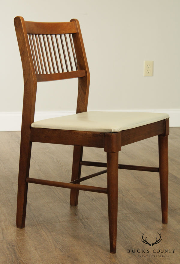 Johnson Carper Mid Century Modern Spindled Side Chair