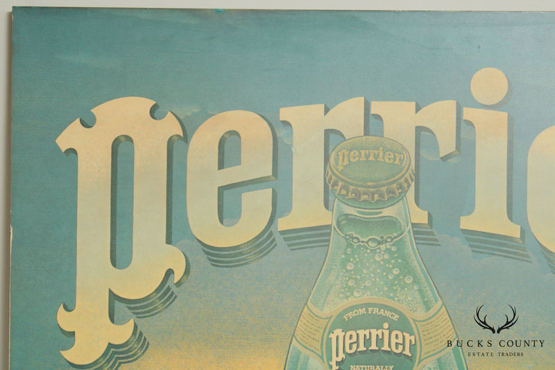 Perrier Large Vintage Decorative Advertising Wall Panel