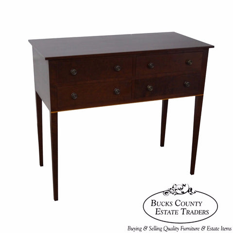 Eldred Wheeler Solid Cherry Bench Made 4 Drawer Huntboard Sideboard