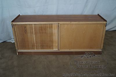 Danish Modern Buffet Credenza : Beautiful kibaek high end rosewood danish modern sideboard