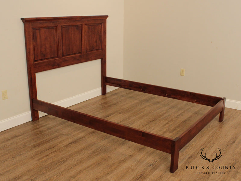 Custom Quality Queen Size Panel Bed
