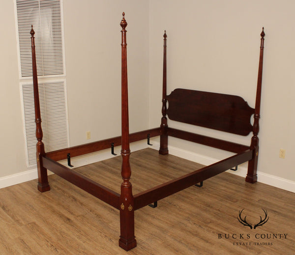 Stickley Renaissance Cherry Queen Size Poster Bed