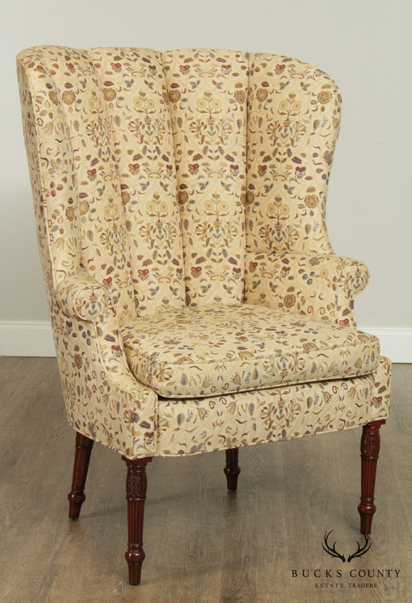 Kindel Winterthur Collection Sheraton Style Wing Chair