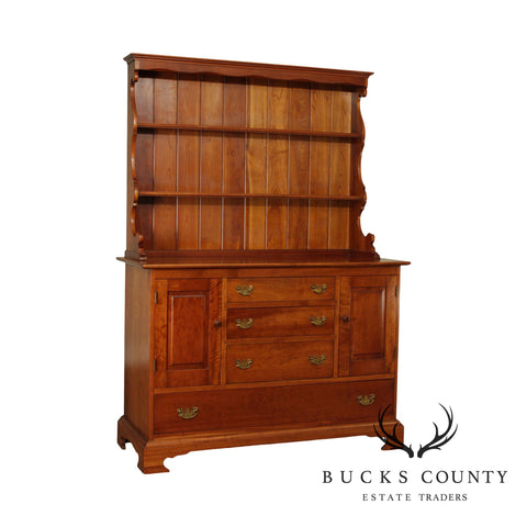 Stickley Cherry Valley Vintage Hutch Top Sideboard