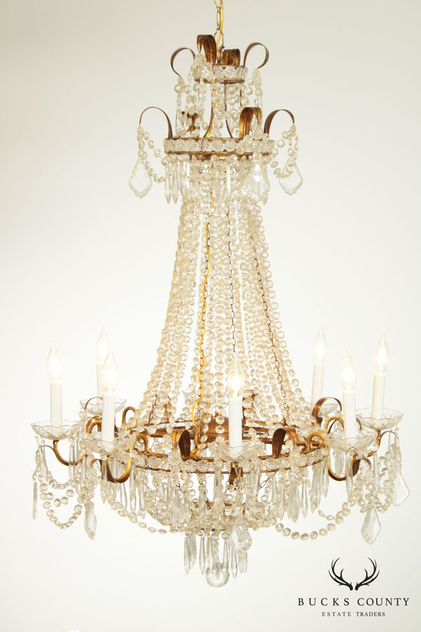 Decorative Crafts 8 Light Empire Style Chandelier