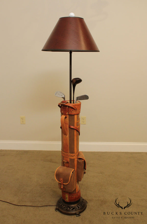 """Forelite"" Belding Sports Golf Bag Floor Lamp"