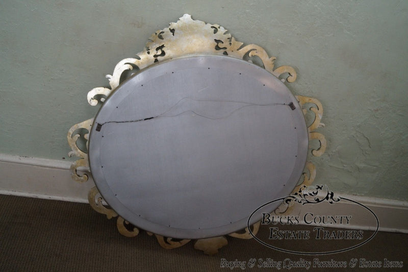 Quality Large Silver Gilt Frame French Style Wall Mirror