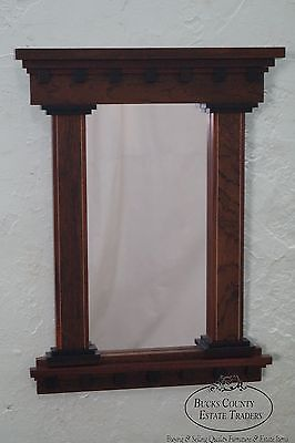 Studio Made Mixed Wood Small Hanging Wall Mirror by Artscape