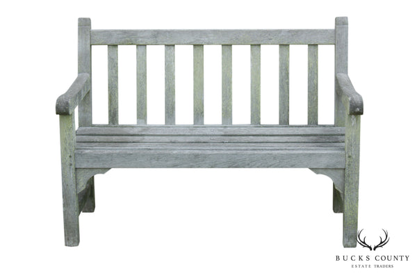British American Vintage Teak Outdoor Bench