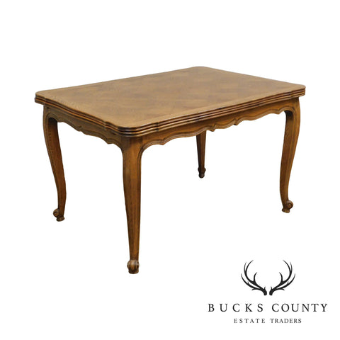 French Country Antique oak Refectory Dining Table