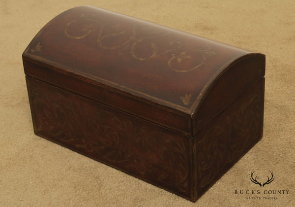 Ethan Allen Dome Top Jewelry Box