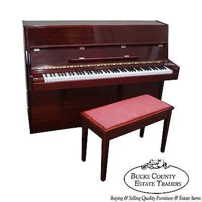 Wurlitzer Contemporary Upright Console Spinet Piano