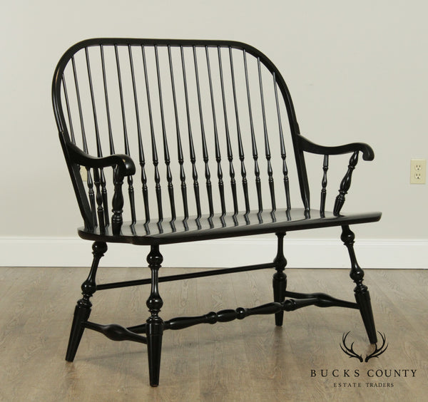 Hitchcock Black Windsor Bench