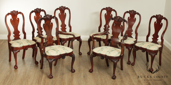 Kindel Winterthur Collection Set 8 Dining Chairs