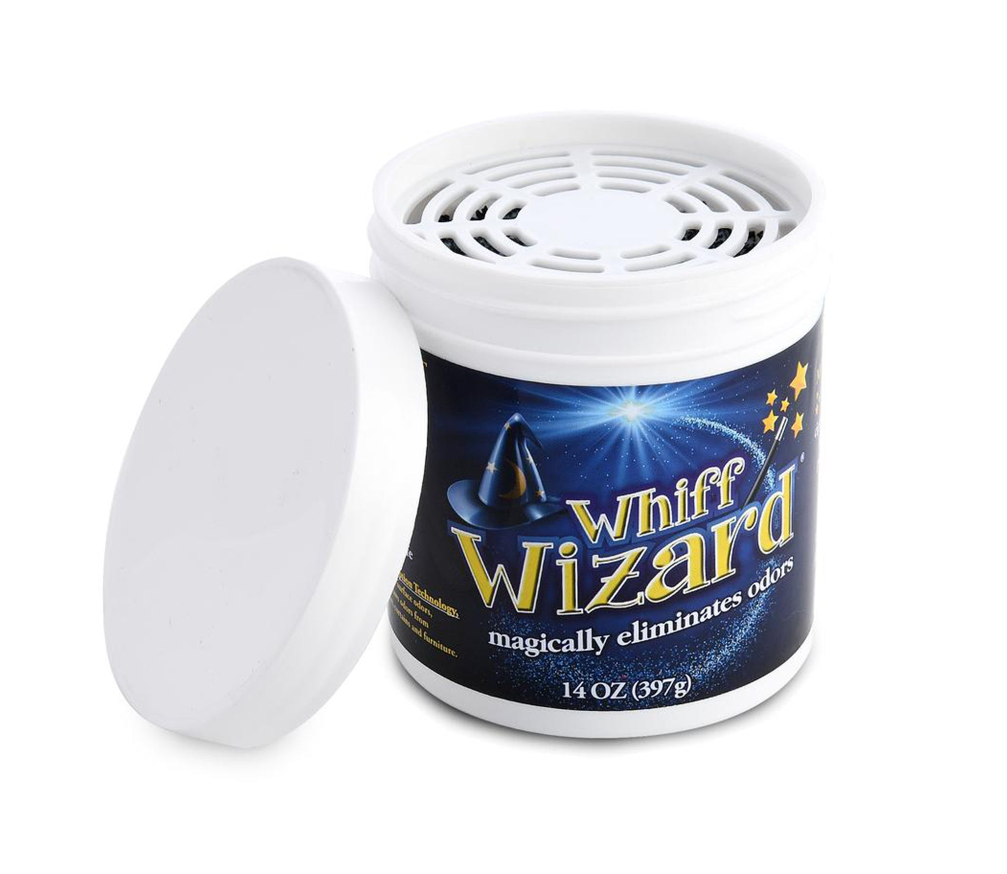 Whiff Wizard Odor Neutralizer with Activated Charcoal 14oz