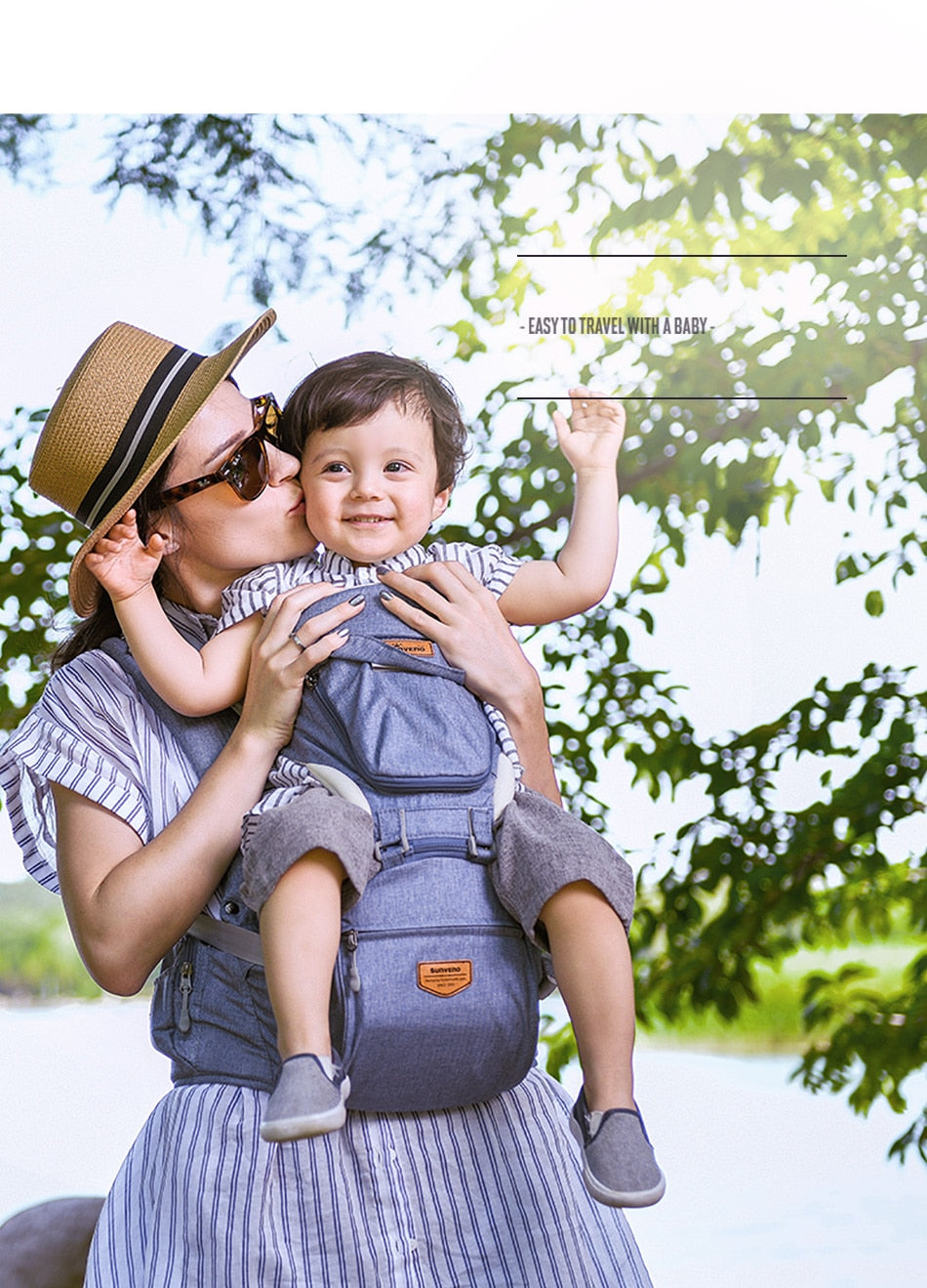 travel toddler carrier for 1-3 years old baby sale