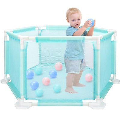 ef1349ccb Children s Hexagon Playpen – Baby Play Yard Suitable For 0-3 years ...