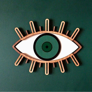 Decorative Eye-Green