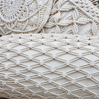 Macrame Bolster Cushion