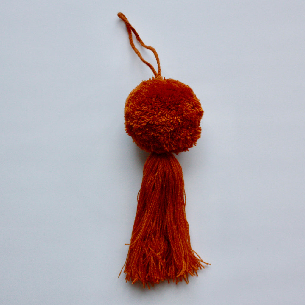 Guatemalan Pom Tassel-Golden Brown