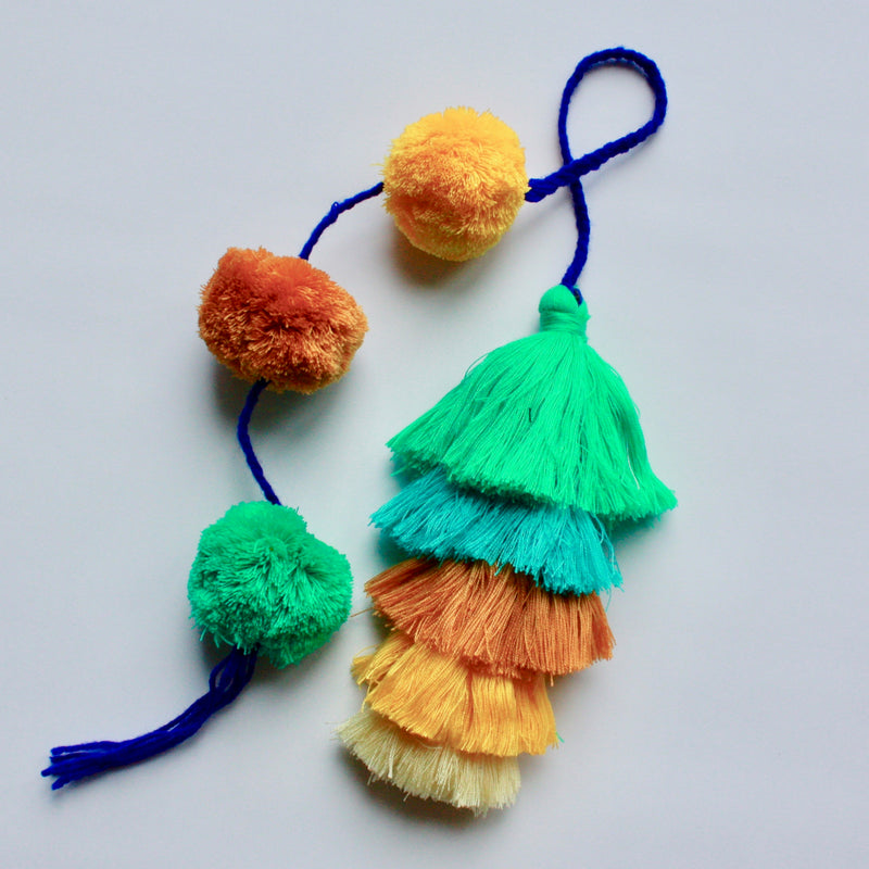 Guatemalan Pom Tassel XL-Multi Coloured 2