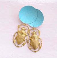 Khepra Earrings