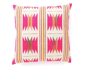 Fushsia Star Cushion