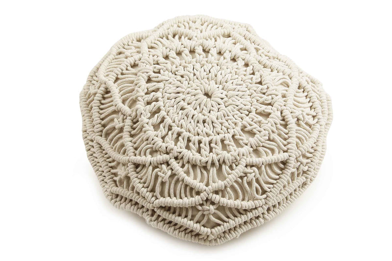 Macrame Round Cushion