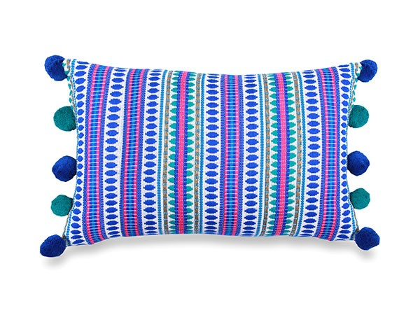 Blue Stripped Cushion
