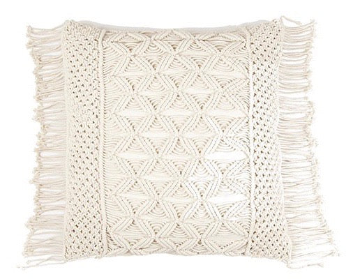 Large Macrame Cushion