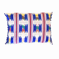 Blue Star Cushion