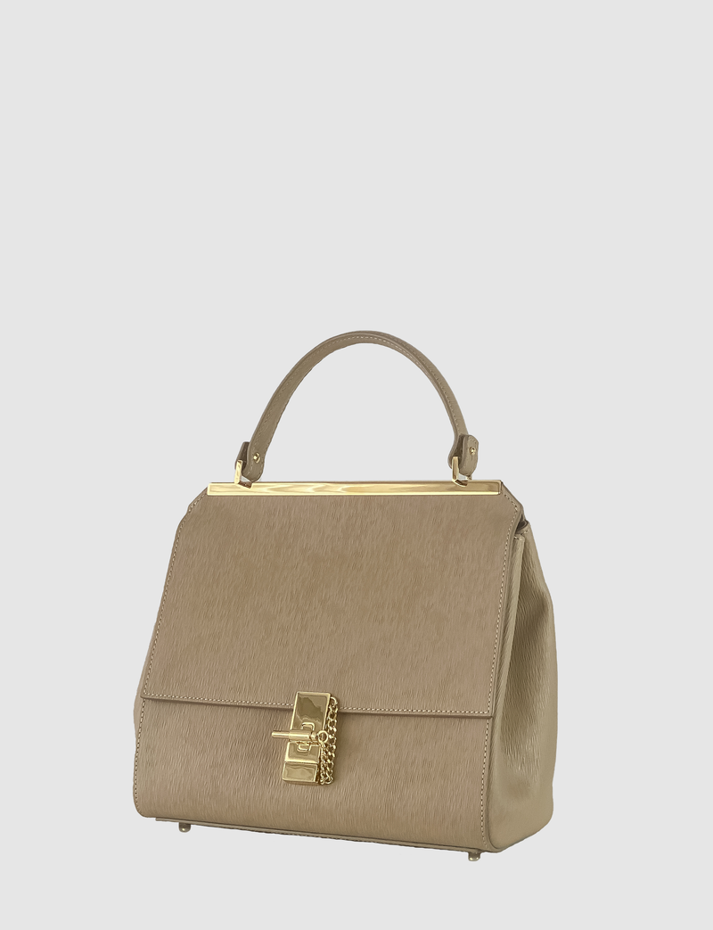 EVE THE LABEL beige handbag