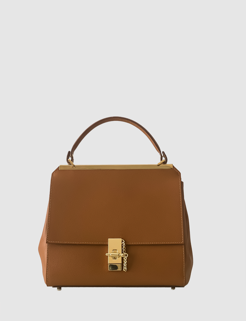 EVE THE LABEL brown handbag