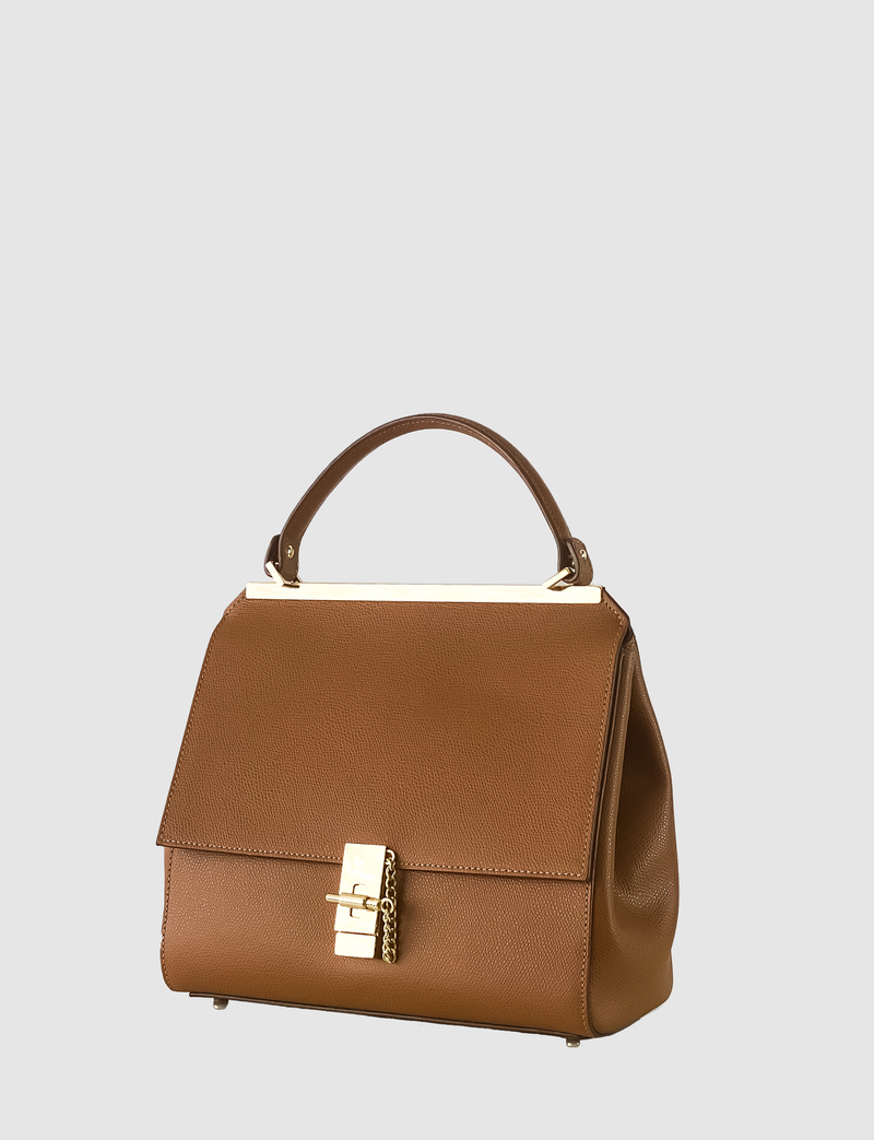 DONNA Brown handbag